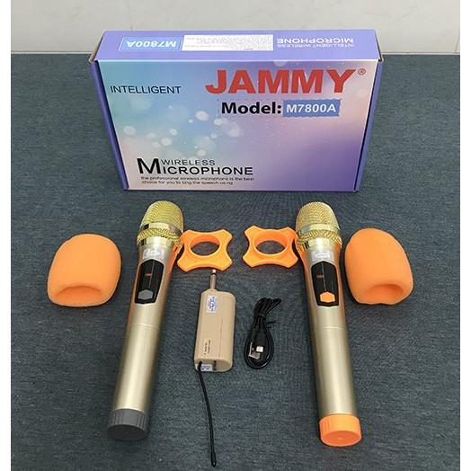 Micro đa năng 2 CÂY Jammy M7800A - Hàng Chính Hãng