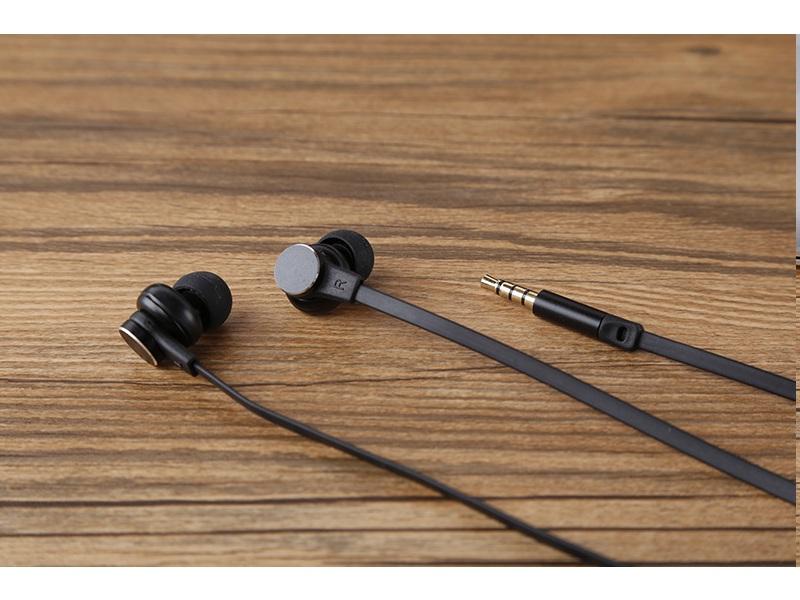 Tai nghe có Jack dùng điện thoại tai nghe nhét tai có dây Bass trầm hay PKCBV3 PF151 Đen