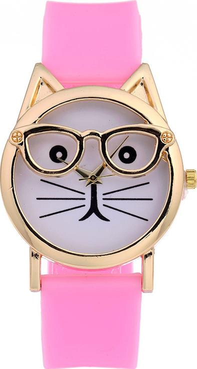 Đồng hồ nữ mặt mèo thời trang