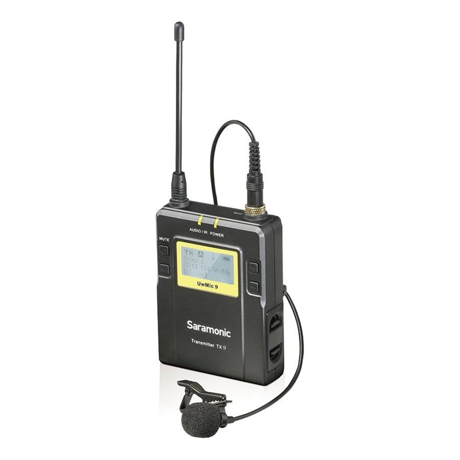 Micro Thu Âm Saramonic UWMIC9 Rx9+TX9+TX9 - Hàng Chính Hãng