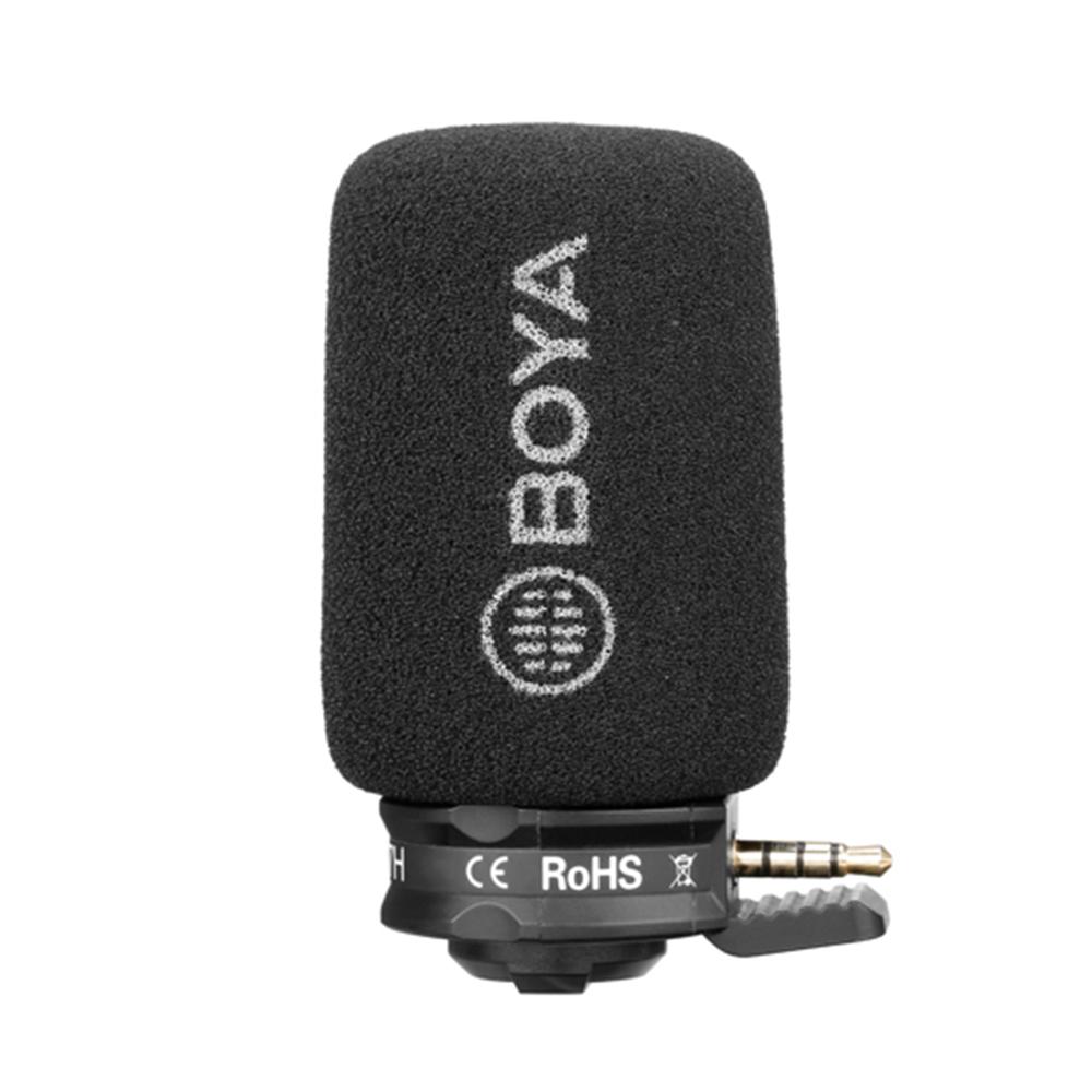 Micro Thu Âm Chuyên Nghiệp - BOYA Smartphone Microphone BY-A7H - Hàng Chính Hãng