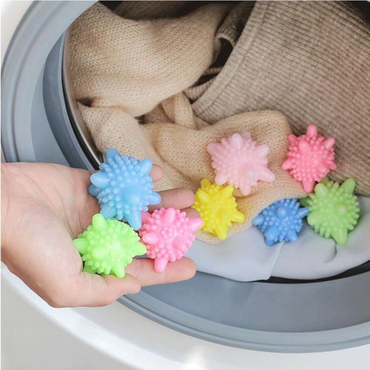 Set 10 Bóng Giặt Gai Giặt Sạch Giảm Nhăn