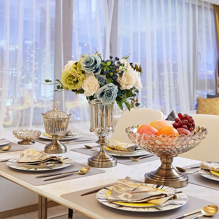 Combo 4 món bày bàn ăn với phong cách tân cổ điển