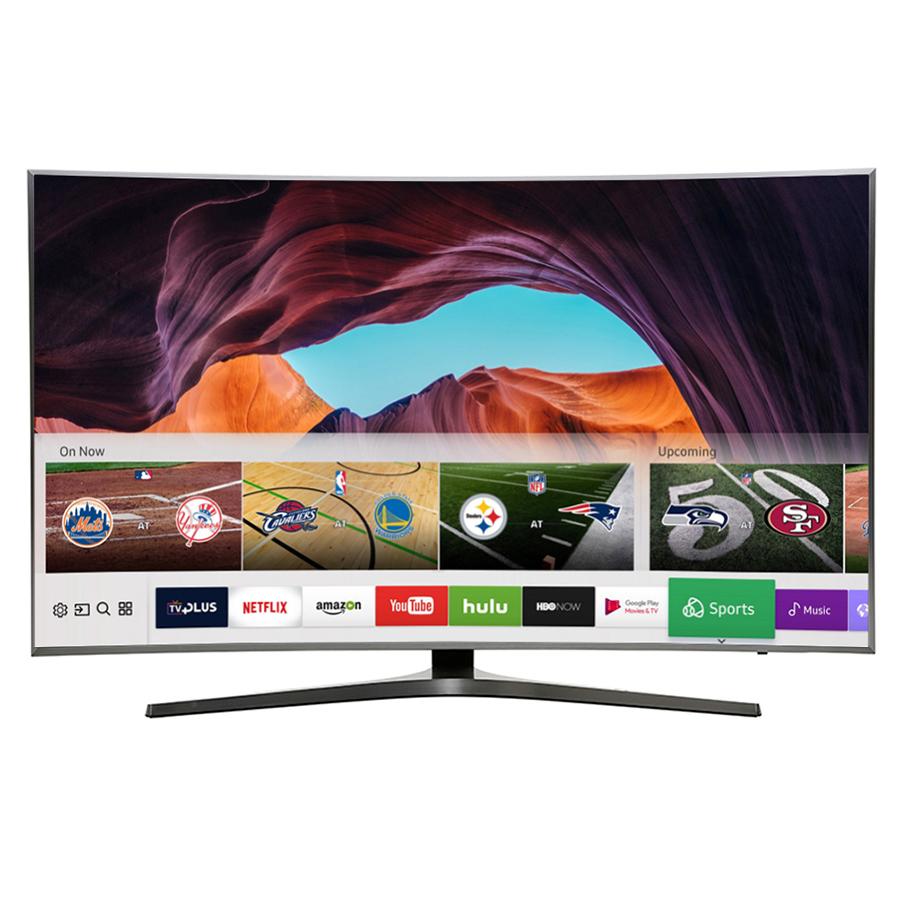 Smart Tivi Màn Hình Cong Samsung 55 inch UA55MU6500KXXV - Hàng chính hãng