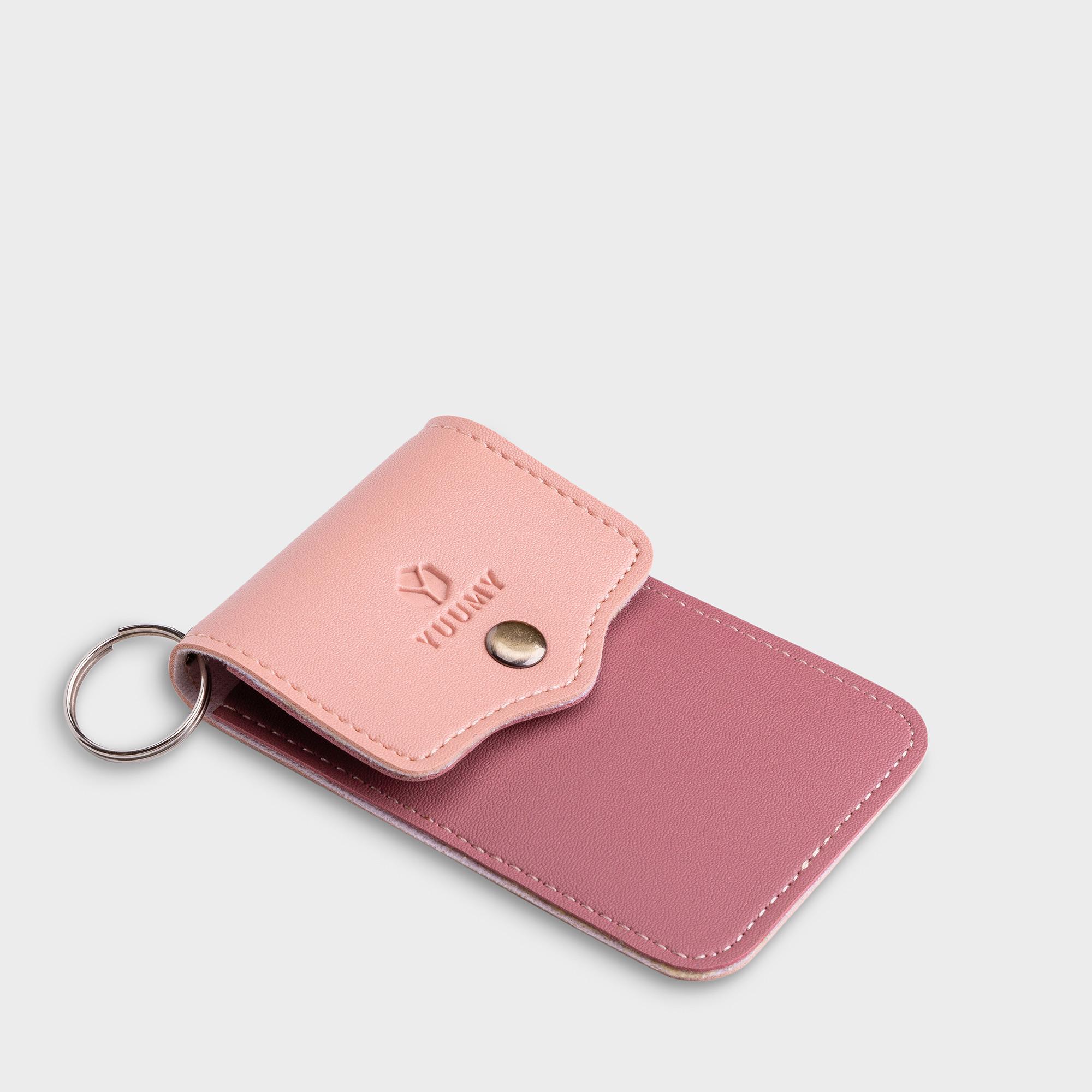 Móc khóa thời trang YUUMY YMK5 - Màu sắc trẻ trung - Thiết kế hiện đại - Đa chức năng sử dụng - Đựng thẻ ngân hàng, thẻ xe, chìa khóa xe - Tiên dụng mang theo bên người (Dài 7cm x Cao 10.5cm)