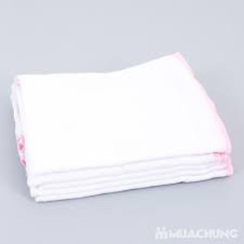 Combo 40 khăn sữa nhỏ 5 lớp cho bé