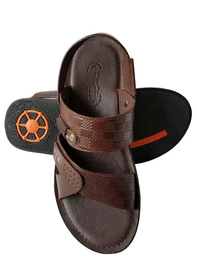 Giày Sandal Nam Da Bò BIGGBEN Cao Cấp SD98