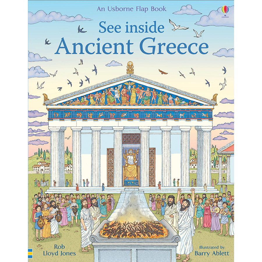 Sách Usborne: See Inside Ancient Greece