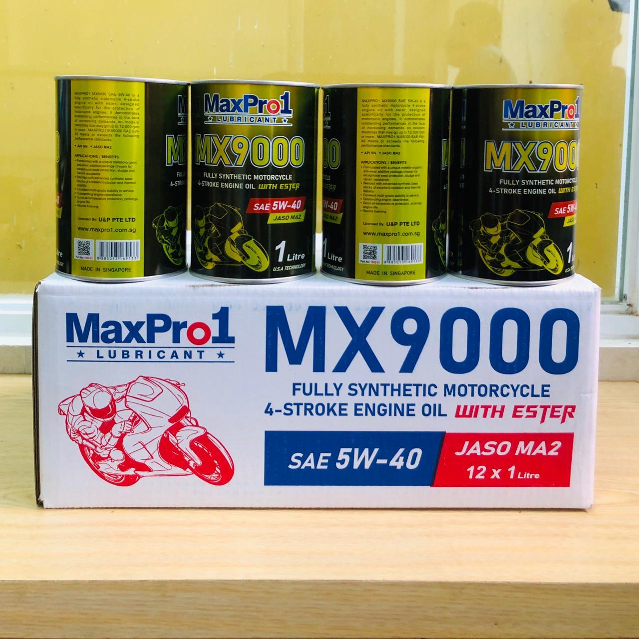 Dầu nhớt tổng hợp xe Moto MX9000