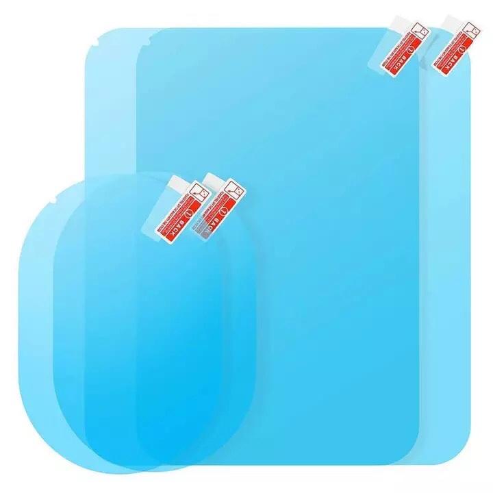 Bộ 4 miếng dán chống đọng nước kính hông và gương chiếu hậu ô tô