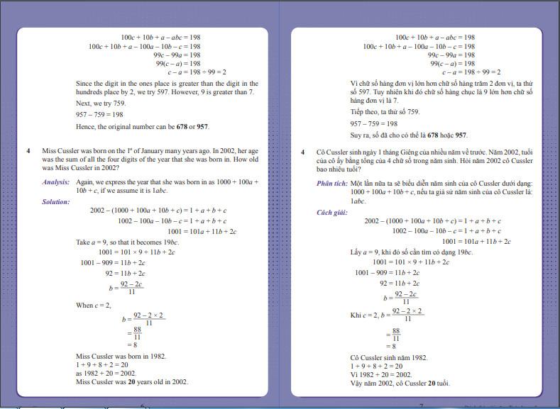 Combo 2 cuốn sách Đánh thức tài năng toán học tập 4 và tập 5 - dành cho trẻ lớp 4-5-6 (từ 10 đến 13 tuổi)