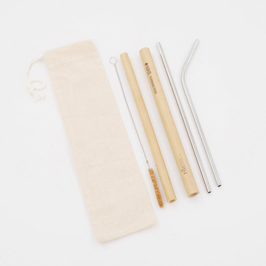 Ống Hút Inox - Ống Hút Tre (ống hút thép  Steel Straws)