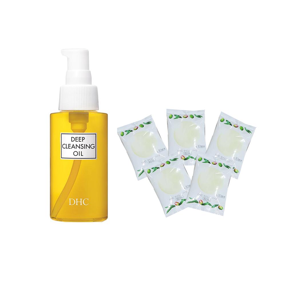 Combo Dầu tẩy trang Olive DHC Deep Cleansing Oil SS 70ml & Pack 5 Gói Xà phòng rửa mặt dịu nhẹ DHC Mild Soap 5g - 24036113 , 3643668278953 , 62_33358643 , 409000 , Combo-Dau-tay-trang-Olive-DHC-Deep-Cleansing-Oil-SS-70ml-amp-Pack-5-Goi-Xa-phong-rua-mat-diu-nhe-DHC-Mild-Soap-5g-62_33358643 , tiki.vn , Combo Dầu tẩy trang Olive DHC Deep Cleansing Oil SS 70ml &