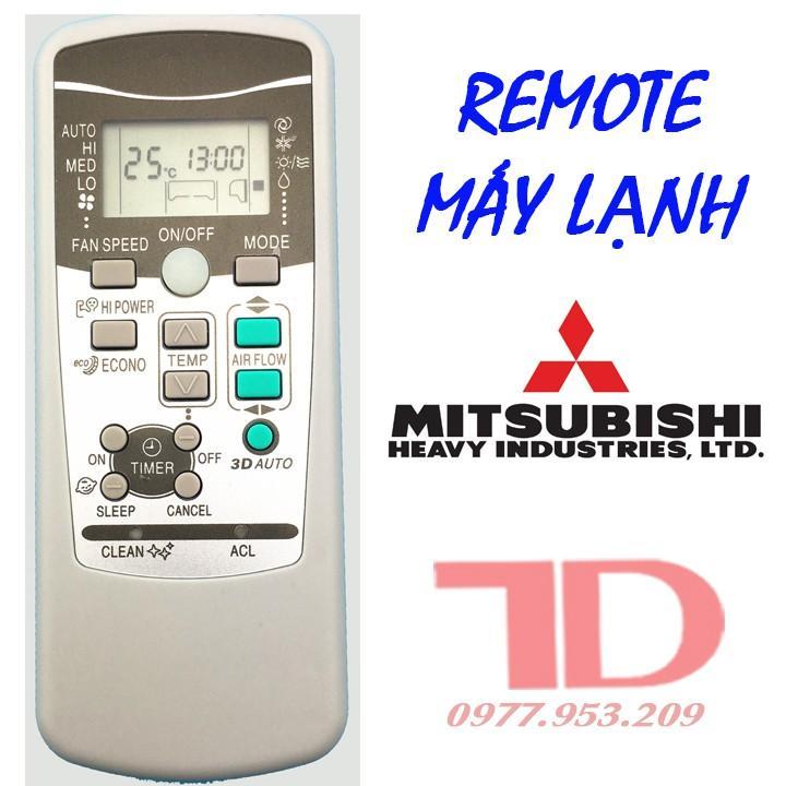 Điều khiển máy lạnh Mitsubishi Heavy 3D