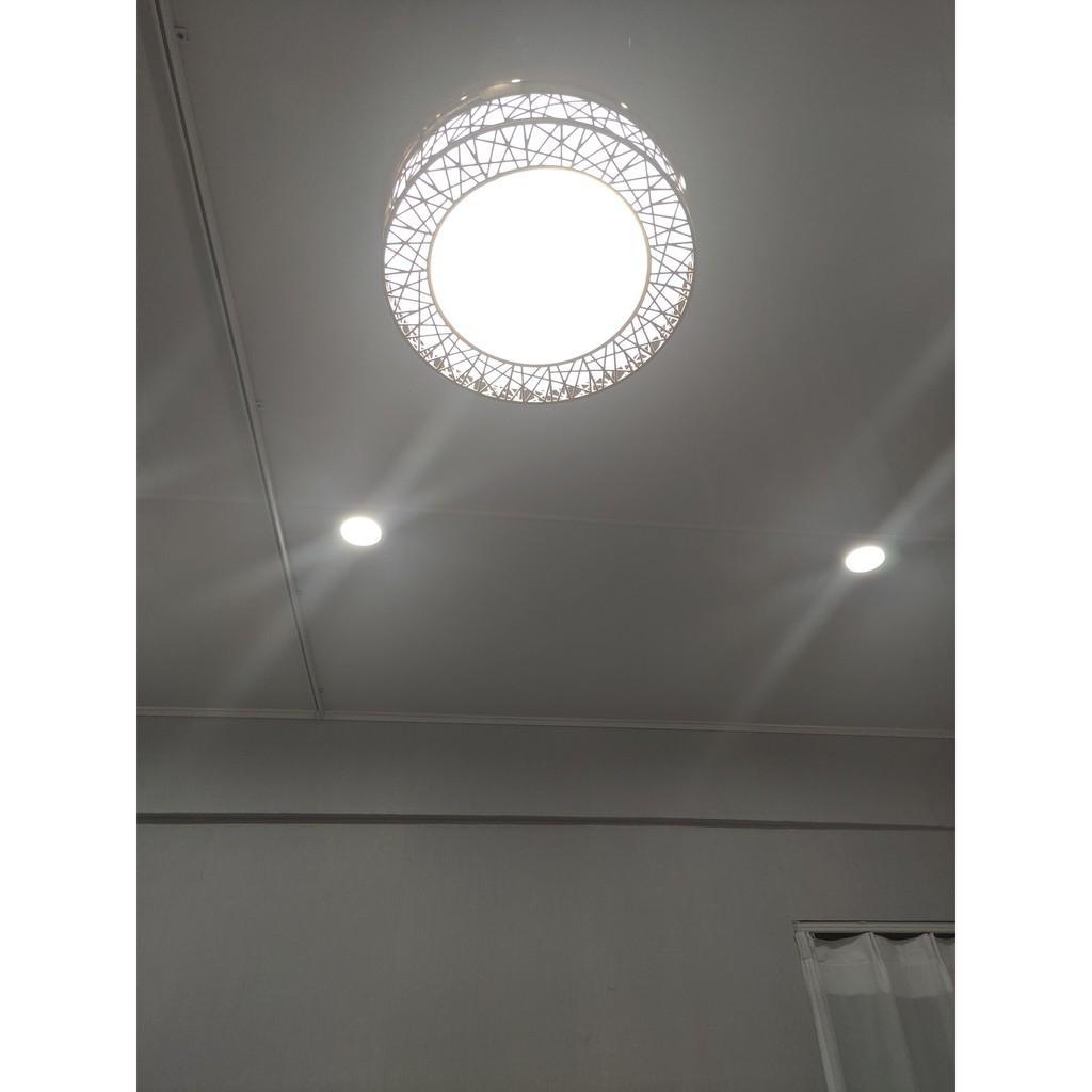 Đèn Quạt Trần Giấu Cánh Cụp Xòe Cao Cấp (Có điều khiển từ xa)