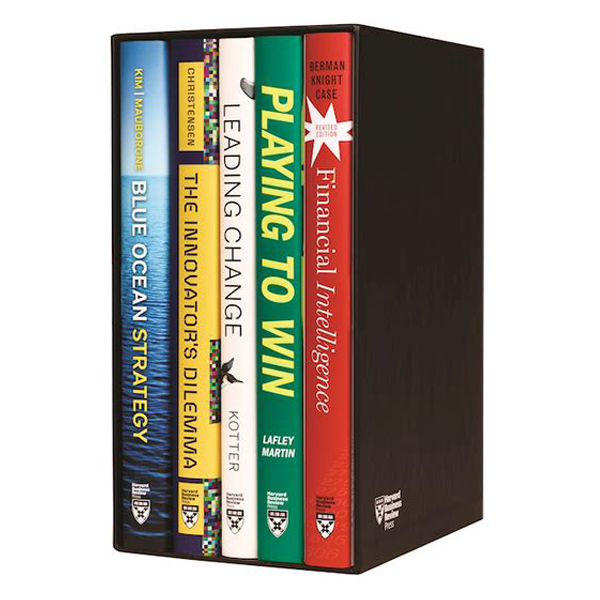 Harvard Business Review Leadership and Strategy Boxed Set (5 Books)