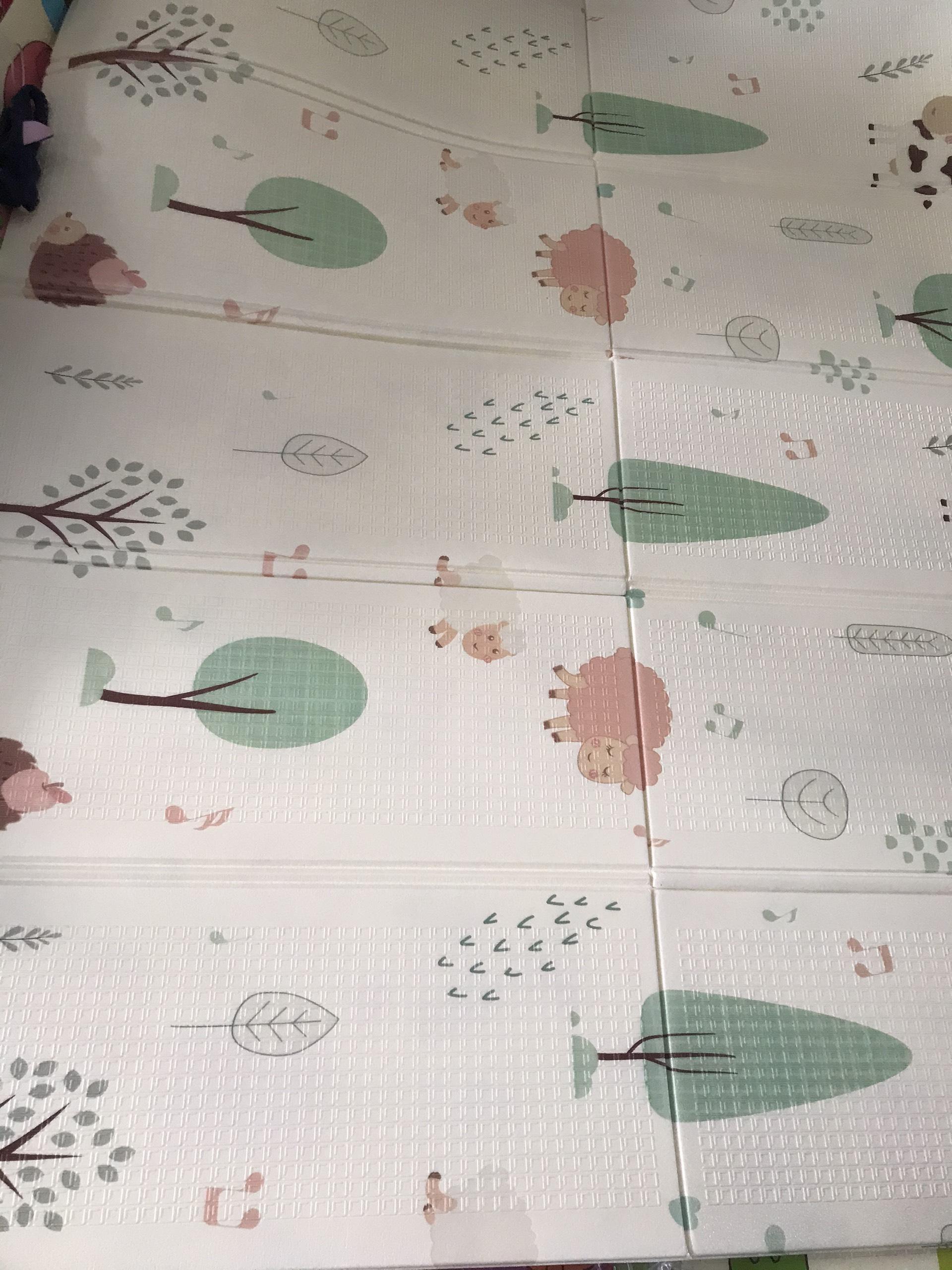 (thảm xếp gọn cho bé chơi 1m8x2m) thảm xốp xpe cao cấp hai mặt dày 0.8cm  hàng cao cấp, chống thấm, chống trơn trượt,chống nóng họa tiết dễ thương  (giao họa tiết ngẫu nhiên)
