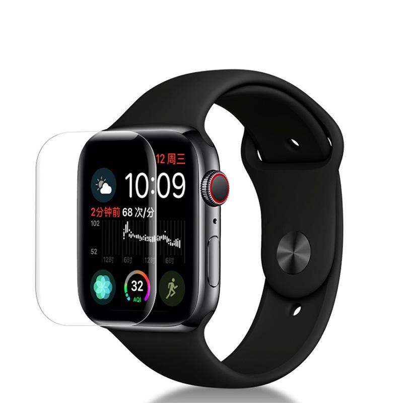 Dán màn hình Apple Watch Series 4 40mm 3D full GOR (Hộp 2 miếng) - Clear - Hàng nhập khẩu