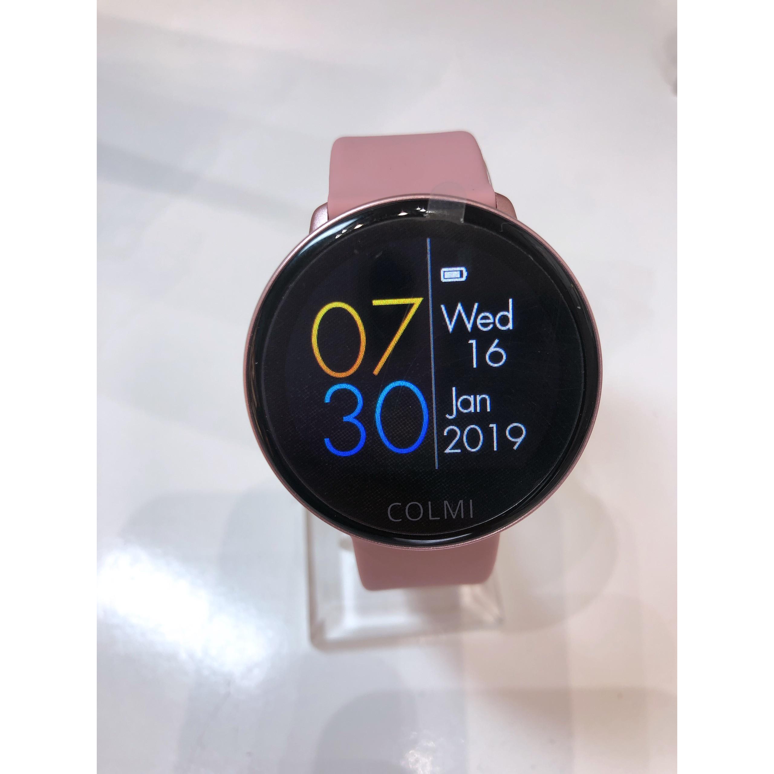 Đồng hồ thông minh COLMI SKY 2- Chính Hãng- MÀU HỒNG