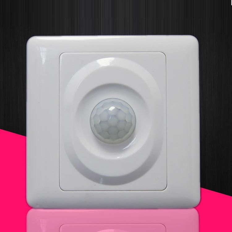 Công tắc cảm biến chuyển động hồng ngoại (Tặng kèm 03 nút kẹp giữ dây điện)