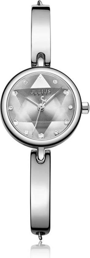 Đồng Hồ Nữ Julius Hàn Quốc JA-1126A Dây Thép Màu Bạc