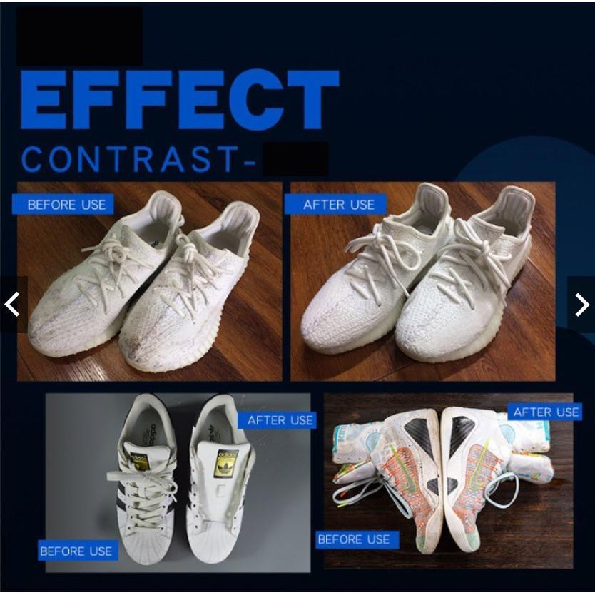 Chai xịt vệ sinh Chăm Sóc Giày Sạch và Khử Mùi Shampoo️ Sneakers
