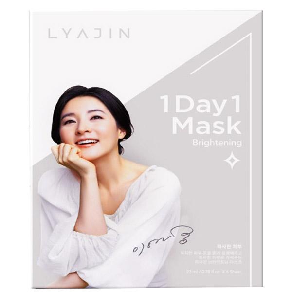 Mặt nạ Lyajin 1 ngày 1 sáng da (1 hộp 6 miếng)