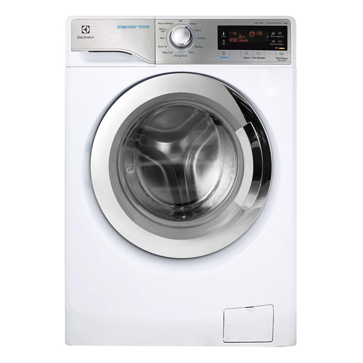 Máy Giặt Cửa Ngang Inverter Electrolux EWF12933 (9Kg) - Trắng - Hàng Chính  Hãng - Máy giặt