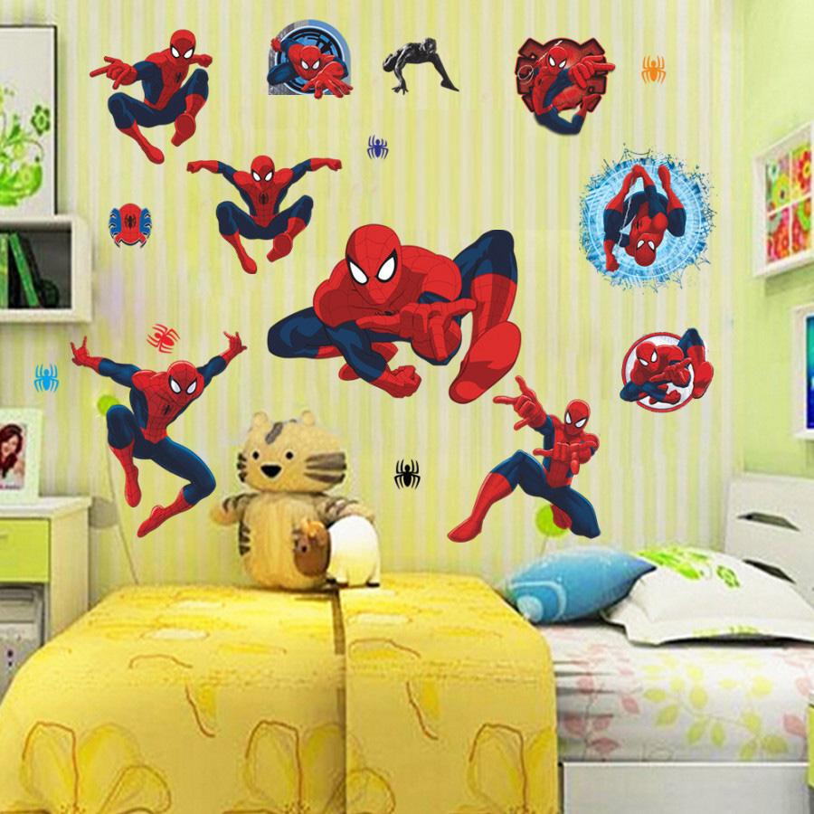 Decal dán tường người nhện