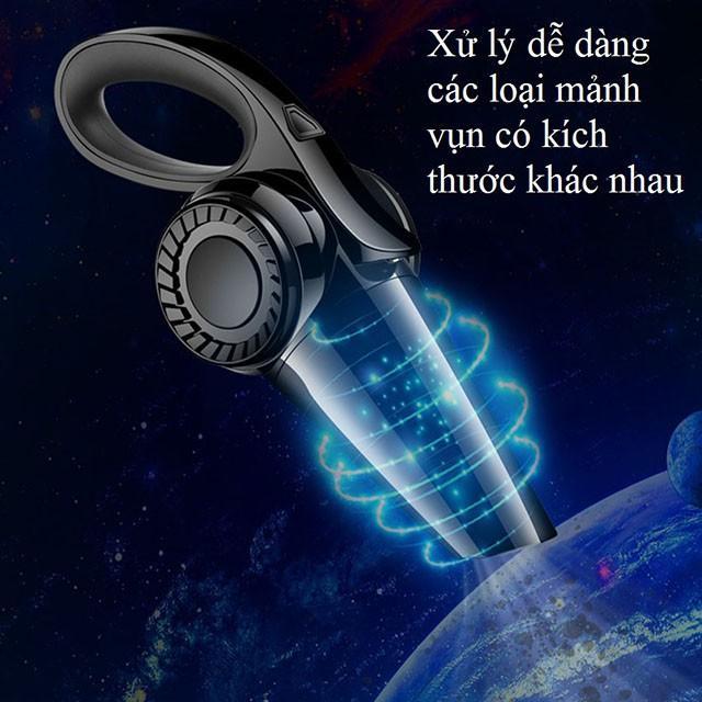 Máy hút bụi cầm tay mini không dây loại tốt XCQ-1, dụng cụ hút bụi vệ sinh chăm sóc ô tô - Aka mart