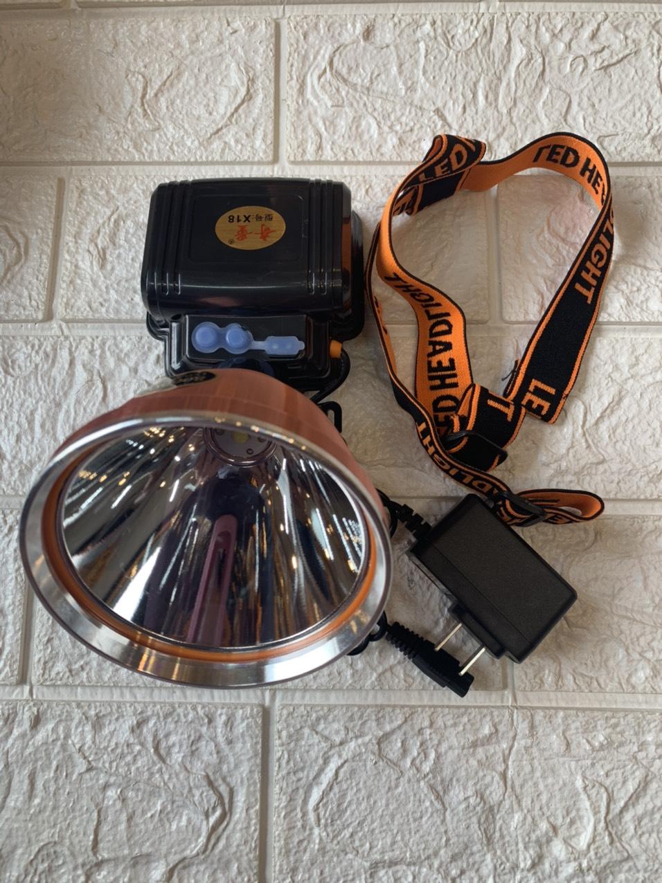 Đèn Pin Đội Đầu Siêu Sáng LED8000