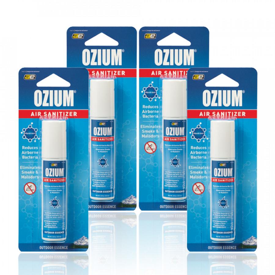 Chai xịt khử mùi Ozium Air Sanitizer Spray 0.8 oz (22.6g) Outdoor Essence/Combo 4 chai