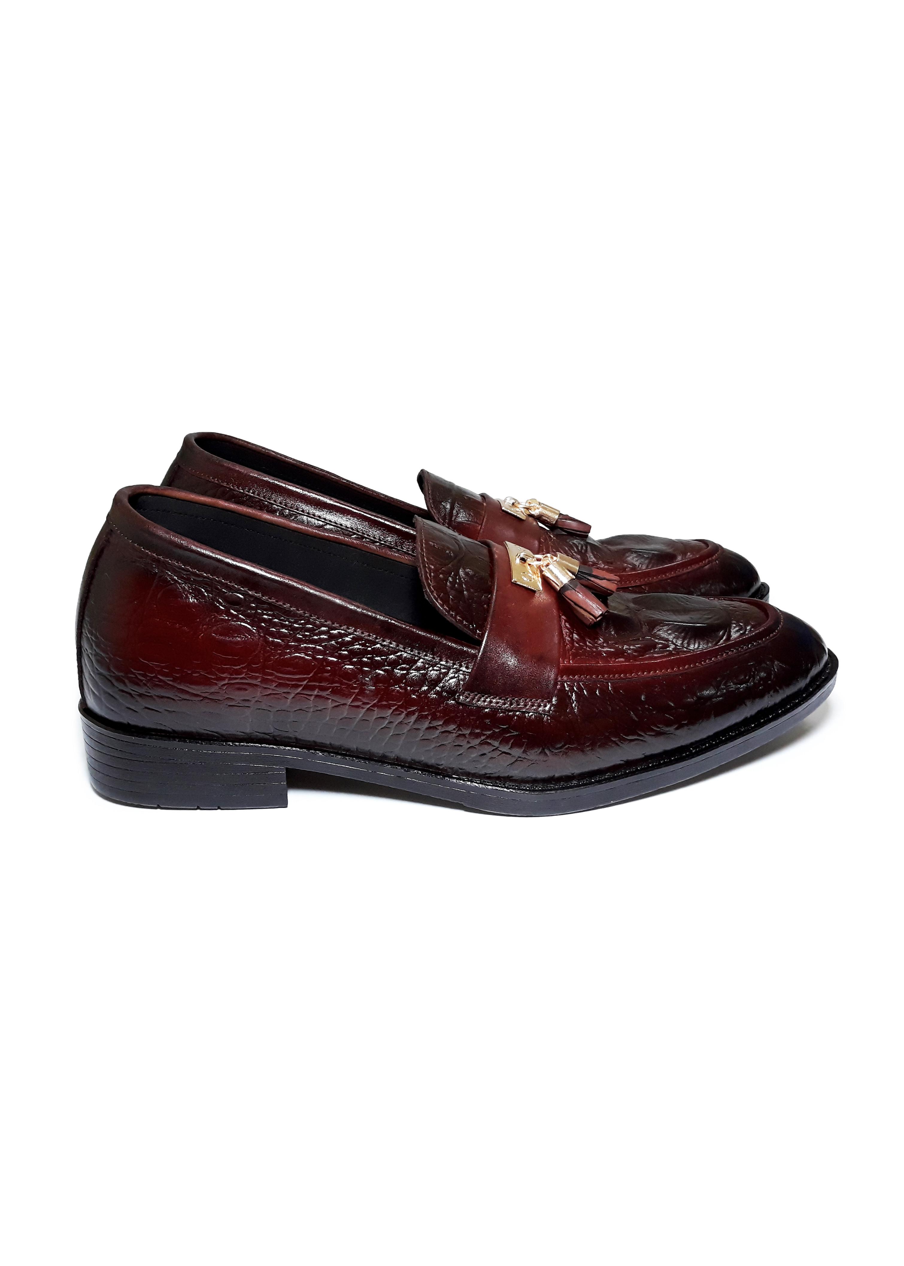 Giày Da Nam Cao Cấp Phong Cách Trẻ Trung Năng Động Lịch lãm, Giày Tây Nam HS23