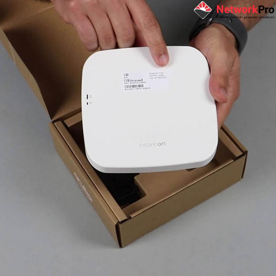 Thiết Bị Thu Phát Sóng Wifi – Aruba Instant On AP11 (Hàng chính hãng)