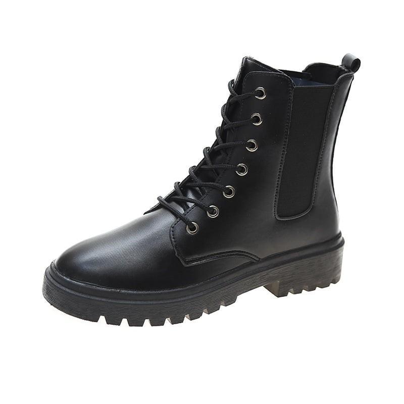 boot cổ pha len 6684