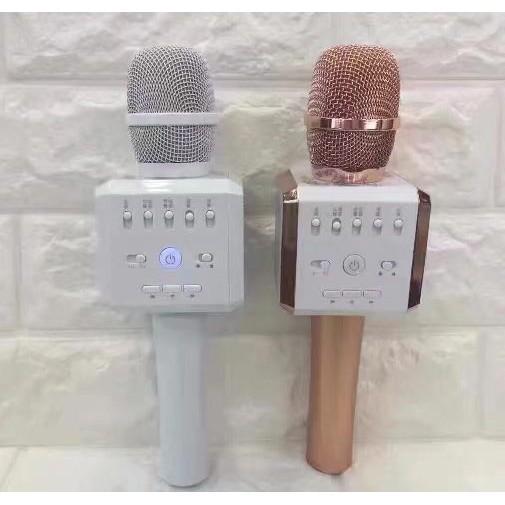 K9 Aqura - Míc hát micro karaoke Loa kèm micro 3 trong 1 kết nối Bluetooth - Mic kèm loa