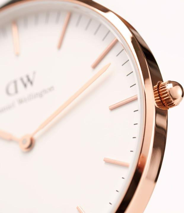 Daniel Wellington Classic Bayswater Rose White 36mm DW00100279