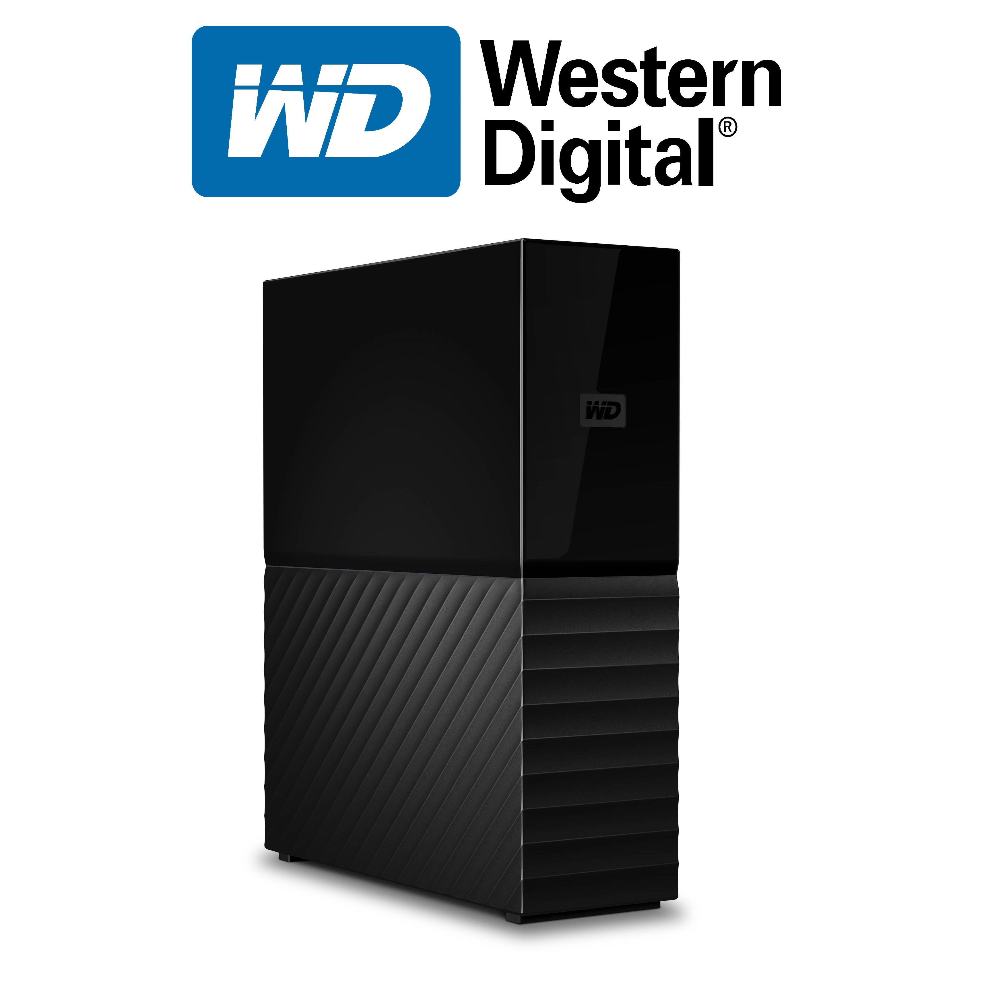 Ổ Cứng Di Động WD My Book 4TB 3.5 USB 3.0 - Hàng Nhập Khẩu