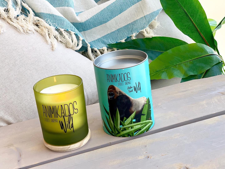 Nến thơm tinh dầu Ambient Gorilla mùi Amber Sunset