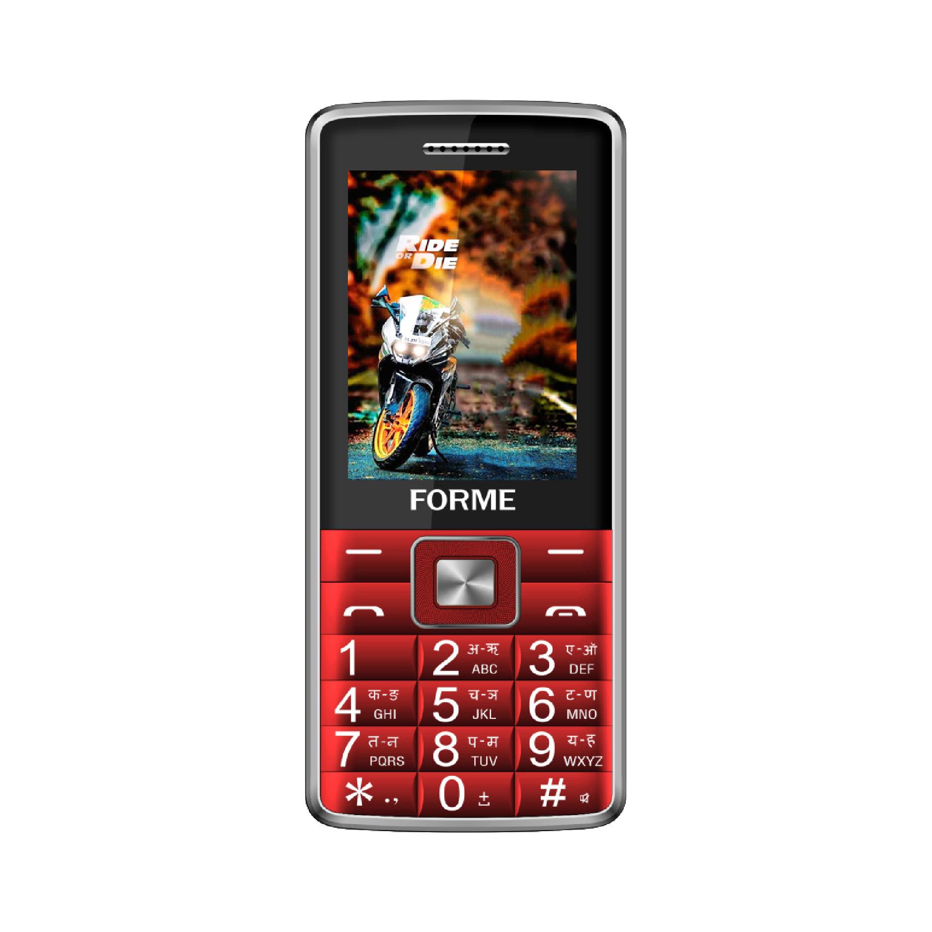 Điện thoại di động Forme D555+ 2sim, loa nghe gọi to rõ - Hàng Chính Hãng