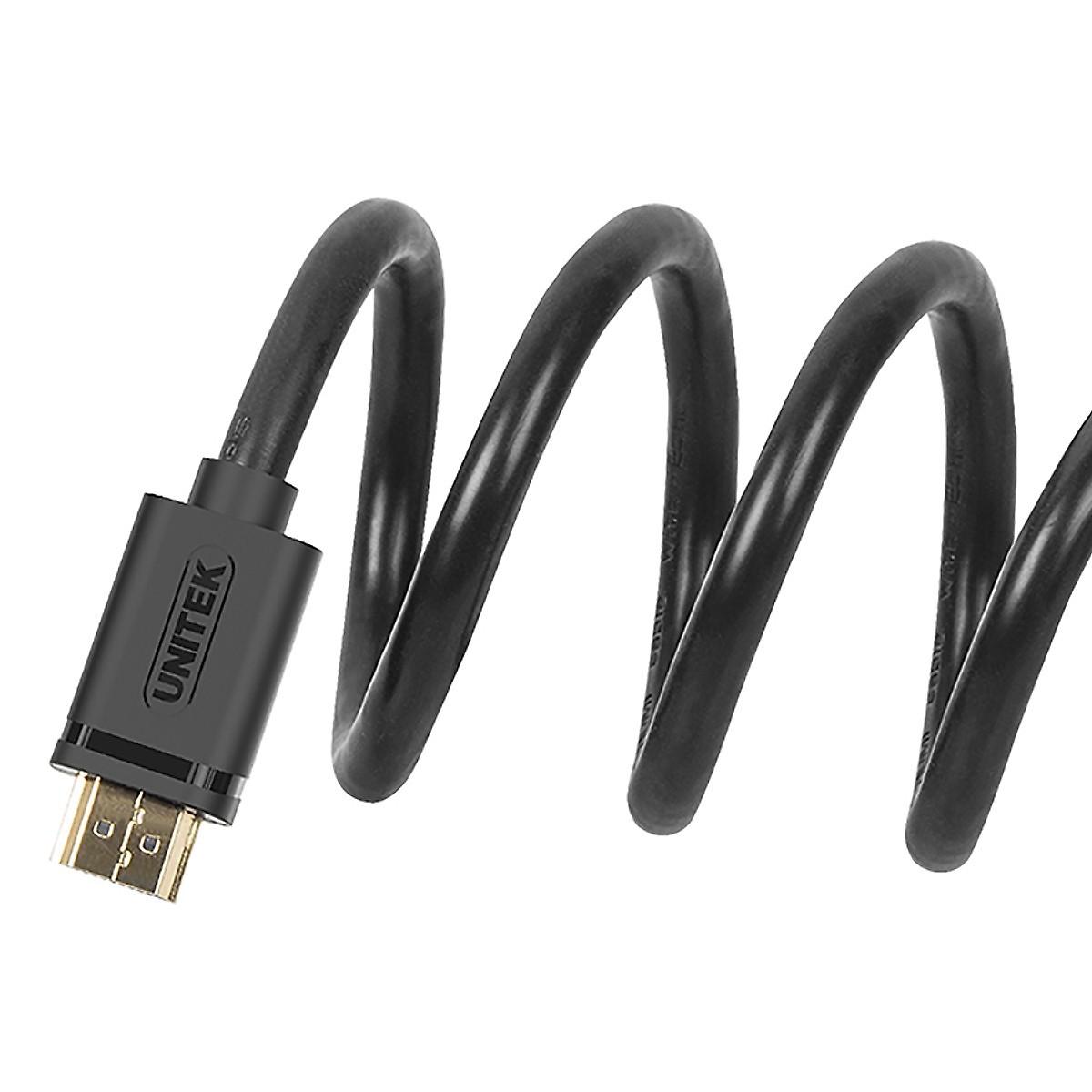 Dây cáp HDMI Unitek 3m Full HD độ phân giải 4K - Hàng Chính Hãng