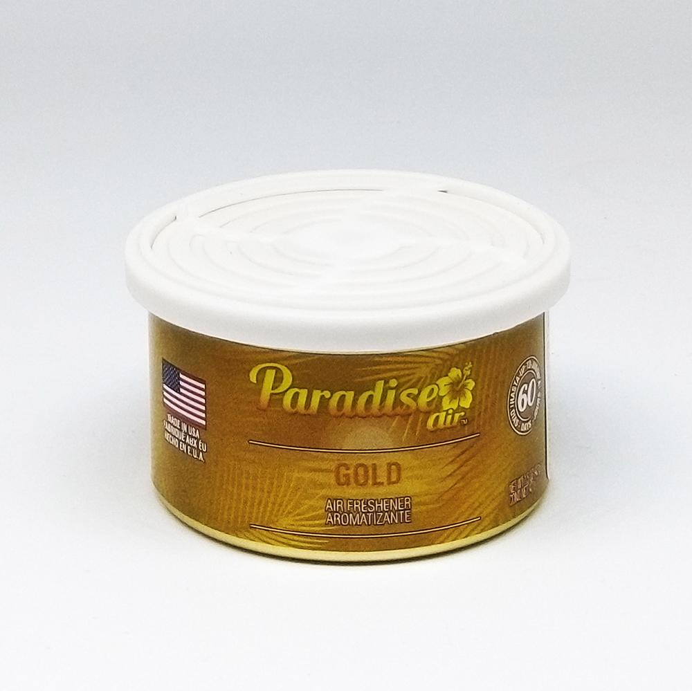 Sáp thơm ô tô Paradise Air Fresh 42g - Gold - Set 2 hộp