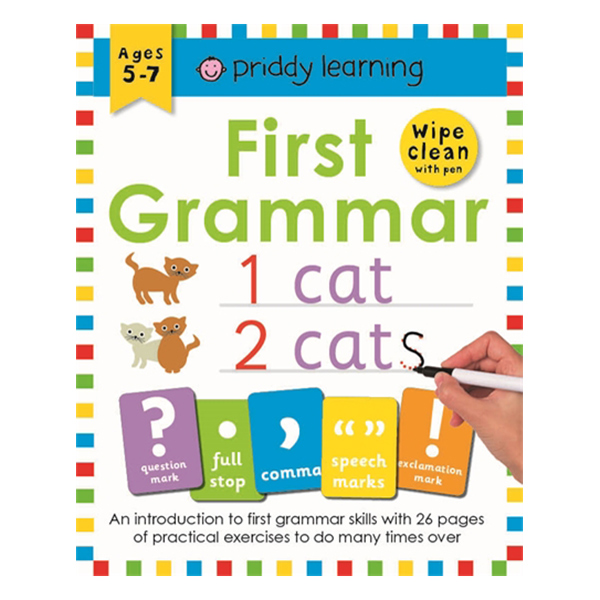 First Grammar: Wipe Clean Workbooks