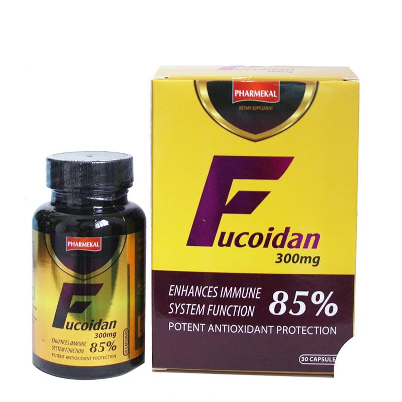 Pharmekal Fucoidan: Tăng Cường Sức Đề Kháng (30 viên)