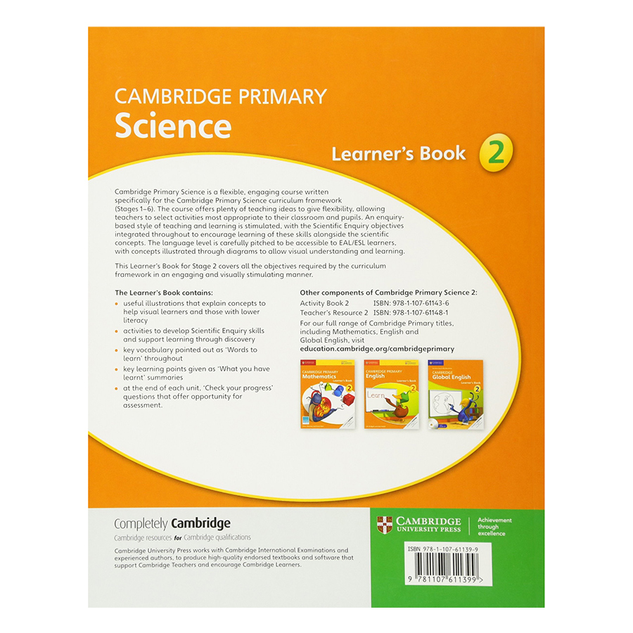 Cambridge Primary Science 2: Learner Book