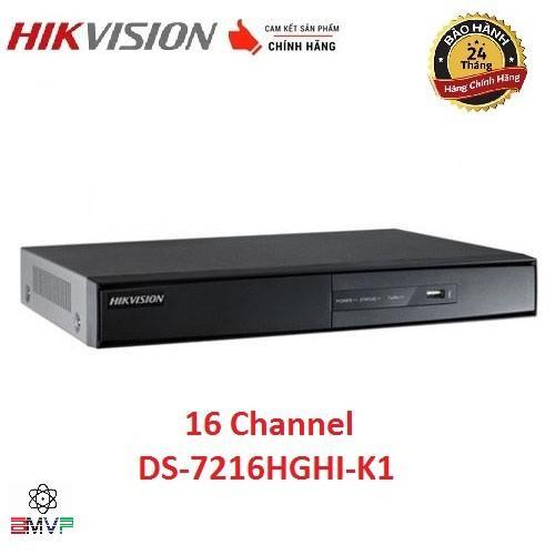 Đầu ghi hình 16 kênh Turbo HD 3.0 Hikvision DS-7216HGHI-K1  - Hàng chính hãng