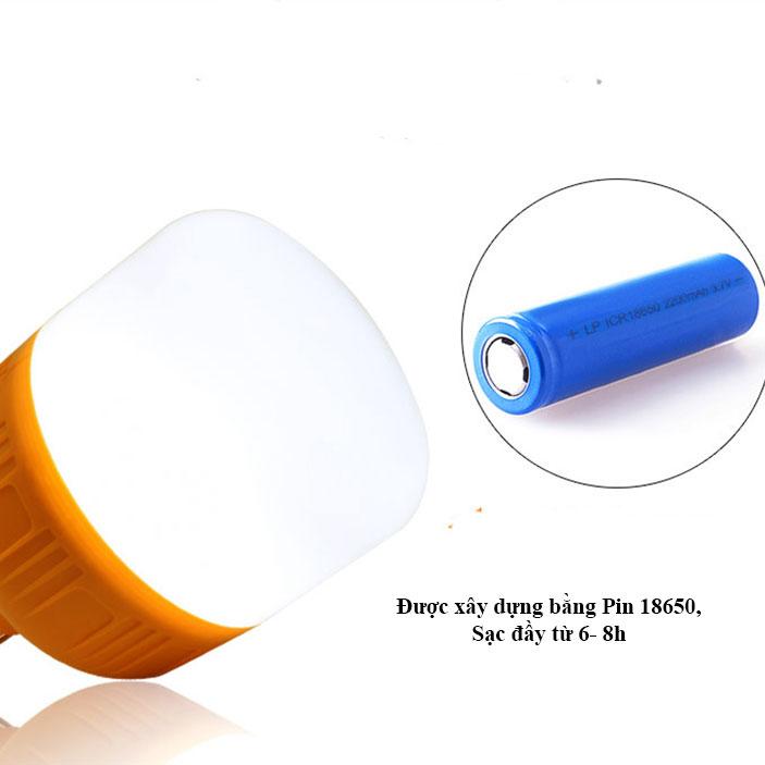 ĐÈN LED TÍCH ĐIỆN NĂNG LƯỢNG MẶT TRỜI 100W CÓ REMOTE - ánh sáng trắng.