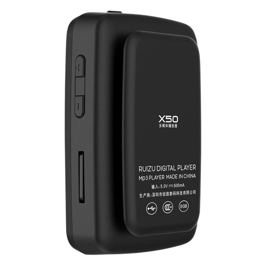 Máy Nghe Nhạc Bluetooth Thể Thao Ruizu X50 - Hàng Chính Hãng