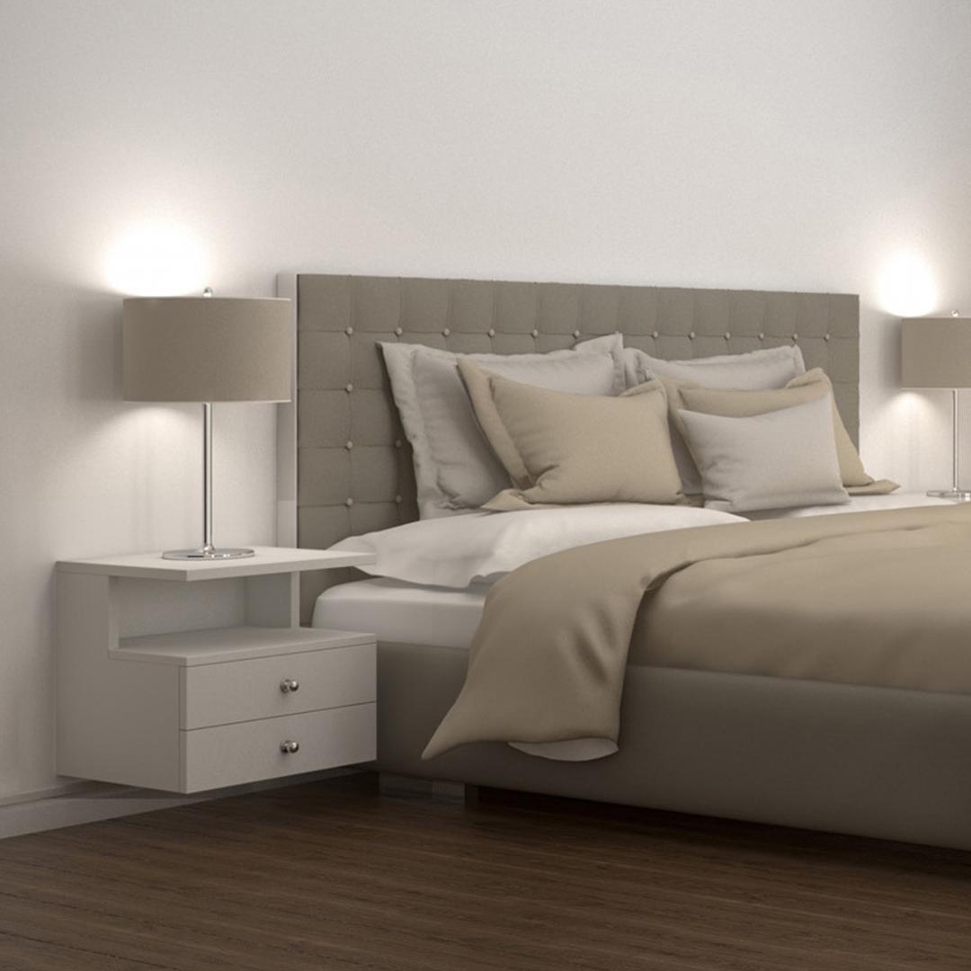 Tủ gỗ đầu giường hiện đại SMLIFE Natasha