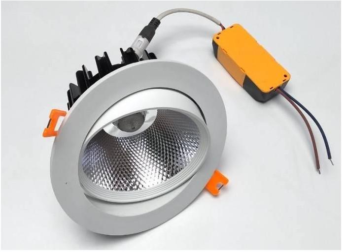 Bộ 8 đèn led âm trần đế xoay 5w hàng chính hãng.